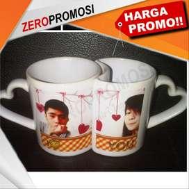 MUG LOVE COUPLE dengan desain mug sepasang