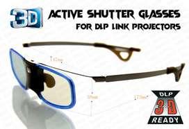 New 3d dlp link active shutter glasses