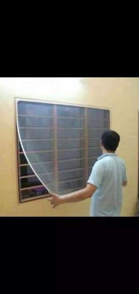 ₹30   mosquito net  installation