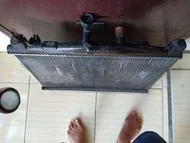 Radiator mazda 2 kondisi msh siap pakai