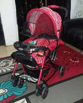 Stroller Dorong Depan & Belakang