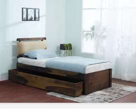 Single box Bed On Rent