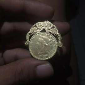 Koin Ten Dollars 1898