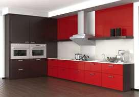 Agen kitchen set aluminium