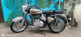 Royal Enfield classic chrome 500cc in good condition
