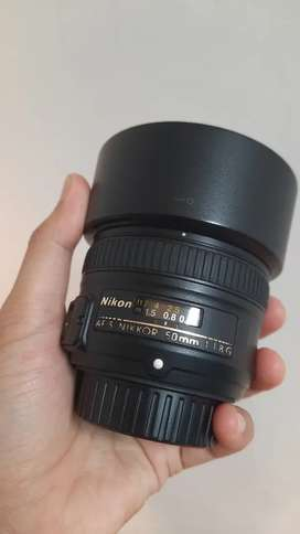Nikon 50mm 1.8 muluss