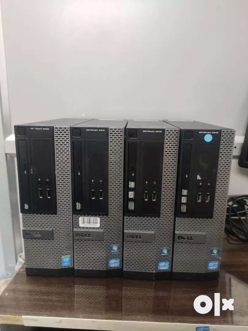 Hp Dell cpu core i3 i5 with 4gbram 500gbhdd with warranty and bill 0
