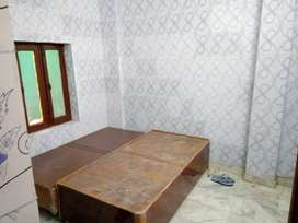 Independent rooms semi furnished with attached washrooms