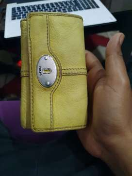 Fossil Leather Wallet for Men