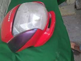 Honda pridar front light cover /frame with two lights