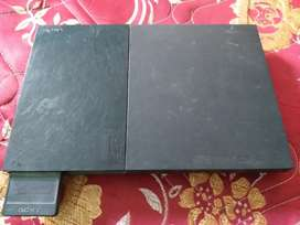 Sony ps 2 with 2 remote without cd  pen drive opreating