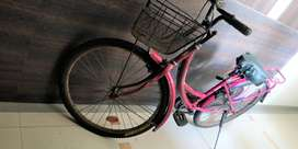 Ladies Cycle, new tyres, 2017 bought