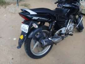 bike is good condition exchange in fz and apache