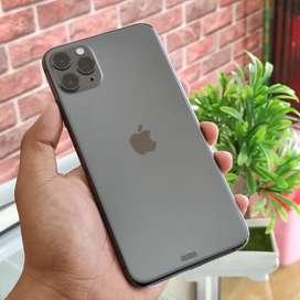 iPhone 11 Pro max 64Gb grey garansi resmi iBox