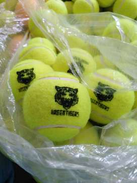 GREEN TIGERS - HIGH QUALITY - TENNIS BALL FOR TAPE BALL CRICKET