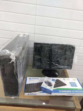 DESKTOP DC 3.2GHZ/3GB RAM/ 250GB HDD WITH 15.6 SCREEN ONLY -7499