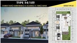 D Vista Residence Tegalsari Tipe 54