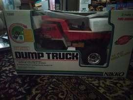 dijual rc dump truck nikko