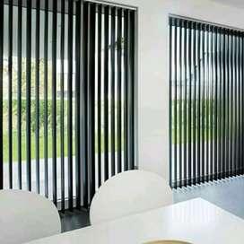 Blinds XSR43 vertical hordyn gordyn kordyn kantor dan apartemen