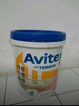 Cat avitex isi 25 kg warna super white ( putih )