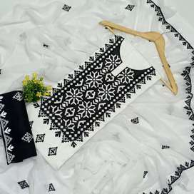 New collection latest fabric lawn 3pc