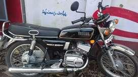 Yamaha rx100 black