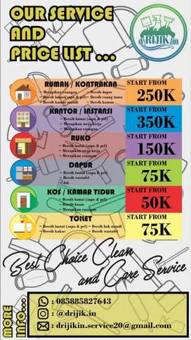 d'RIJIK.in Best Choice Clean and Care Service