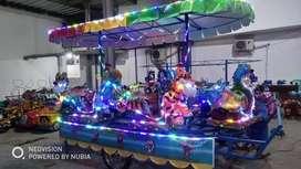 odong odong kereta panggung lengkap lampu hias UK