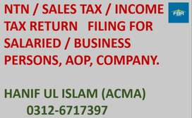 Income Tax Filing & Companies Registration