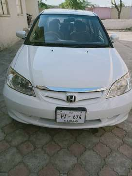 Honda civic exi, out class car in kharian cantt