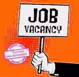 Hiring for Data entry and Back office assistant for Male or Female