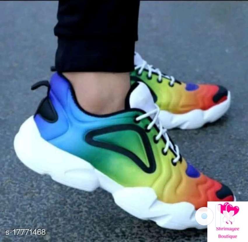 Multicolor shoes for men