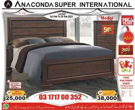 Single bed  Double bed |Wood Bed FurnitureSofa set*Factory.
