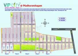 Land for sale in SMA Nagar in Madhurandhagam