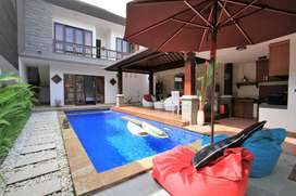 YEARLY FOR RENT 3 BEDROOMS VILLA IN CANGGU -MR062