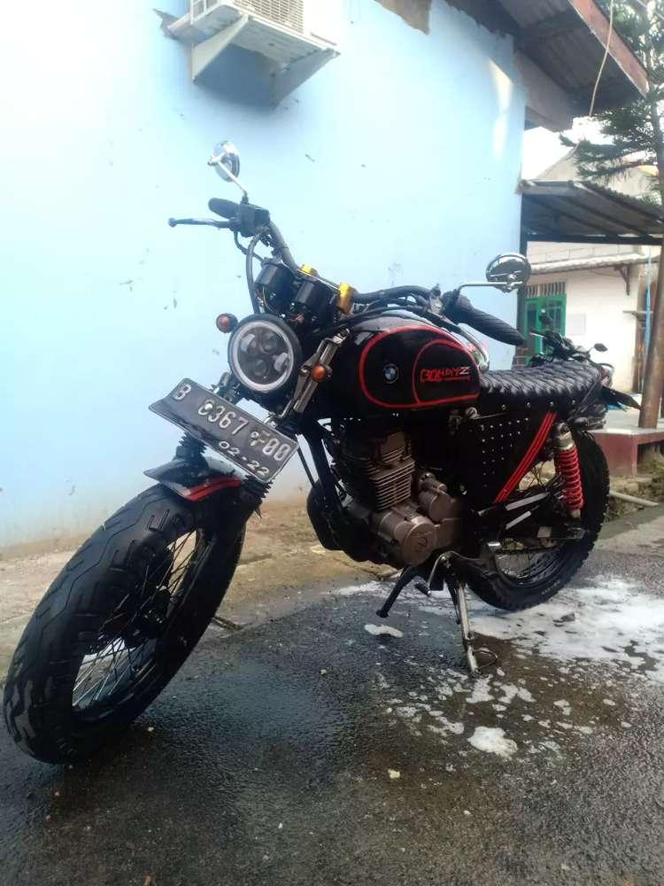 Motor custom megapro japstyle pajak hidup megapro