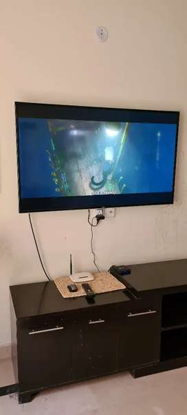 Slightly used 55 inches TCL LED