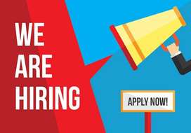 REQUIRED MALE AND FEMALE CANDITATES FOR PART TIME AND FULL TIME