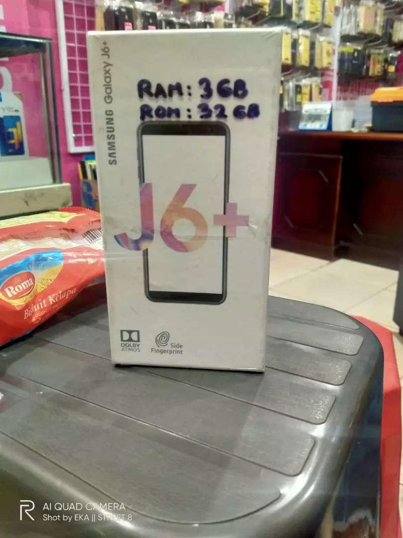 SAMSUNG J6+ 3/32GB Baru garansi resmi 1 tahun 0