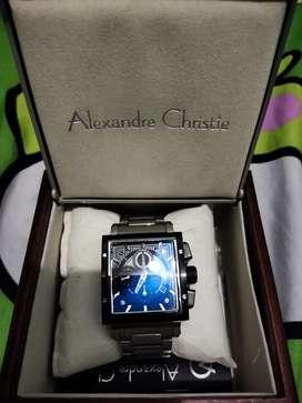 Di jual jam tangan Alexandre Christie pria original