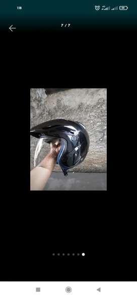 Helm ink ori wrna hitam size M