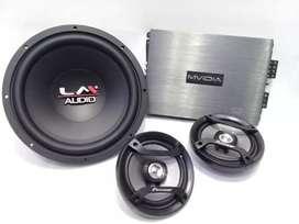 Berikut pemasangan upgrade sound paket LM sepeker and power  & pmsngn