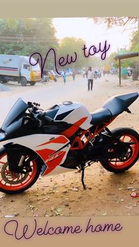 KTM rc 200 brand new 2018 nov
