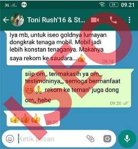 BBM Irit, Tarikan Gas Oke&Lebih Ringan Dgn Pakai ISEO POWER
