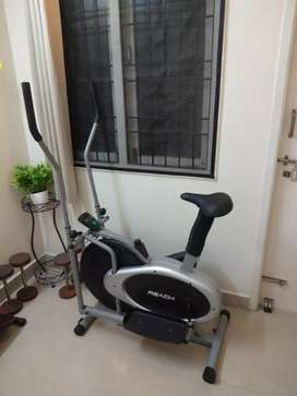 New!! Elliptical bike Rs.9000/-