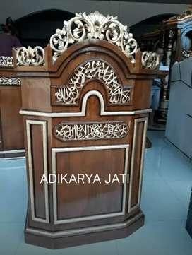 Podium mimbar ceramah pidato adikarya.81.