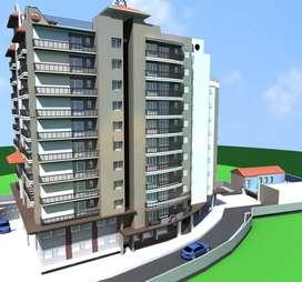 Three BHK flat for sell in main road sigra Varanasi
