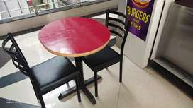 Cafe table n chair