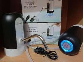 Pompa galon elektrik bai chuan-pompa portable cas LED pipa selang-awet