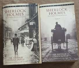Novels 1. Sherlock holmes ( the complete novels) And 2. The Alchemist